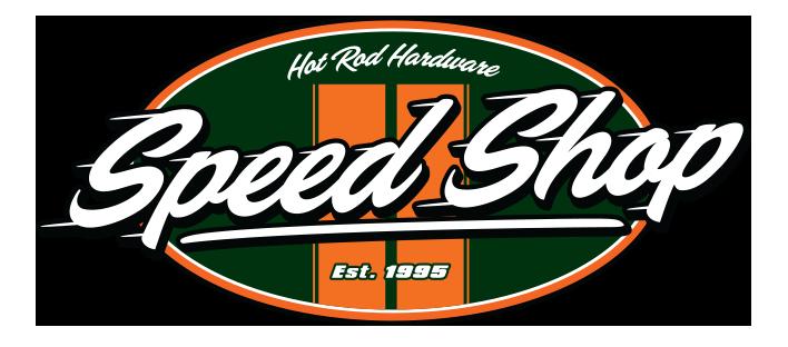 Hot Rod Hardware Speed Shop Logo